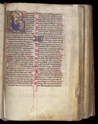 Beatus Page, In The Coldingham Breviary